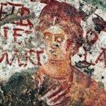 Heilige in den Katakomben Roms