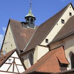 Spitalkirche St. Elisabeth mit ehem. Pfruendnerwohnung in Hersbruck