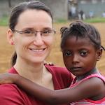 Carmen Schöngraf von der ora-Kinderhilfe
