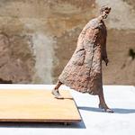 """Skulptur """"Fortschritt"""" von Annette Zappe. Foto: Wolfgang Noack (rpz)"""