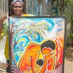 Juliette Pita, Künstlerin, Vanuatu, Melanesien